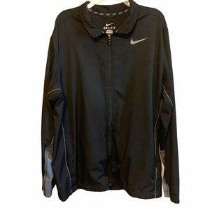 Nike Dri Fit Track Training Full Zip Jacket Sz XL